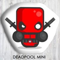 Bantal Boneka Dekorasi Superhero - Large Deadpool Mini