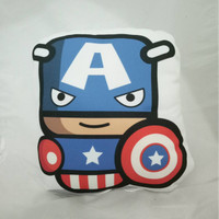 Bantal Boneka Dekorasi Superhero - XtraLarge Captain America