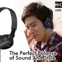 Headphone/headset sony MDR-zx110AP with mic(bisa telf) original