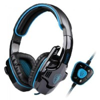 Headset Sades SA-901 USB Gaming 7.1 Sound