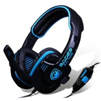 Headset Sades SA-708 Gaming Stereo Sound