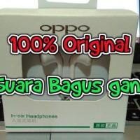 100% ORIGINAL Headset Earphone Handsfree Oppo R9 / Lenovo Xiaomi Vivo
