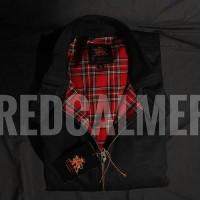 Jaket Harrington Redcalmer original - Black tartan