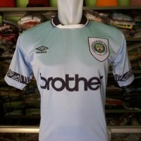 JERSEY RETRO HOME MANCHESTER CITY 1993 BROTHER