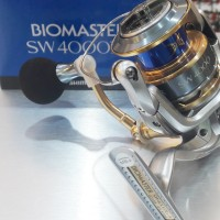 Reel Spinning SHIMANO BIOMASTER SW 4000XG (Garansi Resmi)