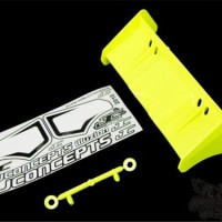 0113Y JConcepts Illuzion- 1/8th Buggy/Truggy wing, yellow