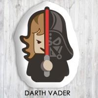 Bantal Boneka Dekorasi Superhero - Large Darthy Vader Mini