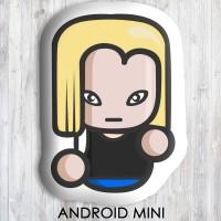 Bantal Boneka Dekorasi Superhero - Large Android Mini