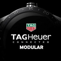 Tag Heuer Connected MODULAR 45 - Leather Brown Strap