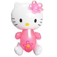 Boneka Tiup Hello Kitty. Mainan Bunyi Mandi Anak