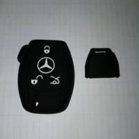 Kondom Kunci Silicon Key Sarung Cover Remote Mobil Mercy Mercedes Benz