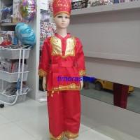 kostum adat anak TK LAKI MINANG KABAU