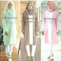 Atasan Blouse Tunik Wanita Baju Muslim Blus Muslim Sabrina Tunic