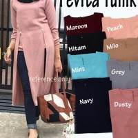 Atasan Blouse Tunik Wanita Baju Muslim Blus Muslim Pevita