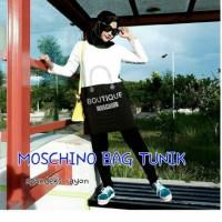 Atasan Blouse Tunik Wanita Baju Muslim Blus Moschino Top