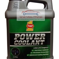 TOP 1 Power Coolant - Air Radiator Coolant Hijau 4 Liter Made in USA