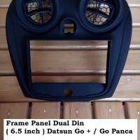 Frame Panel Head Unit Double Din / TV Datsun Go Panca / Go +