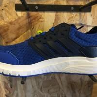 Sepatu running Adidas Galaxy 3M original jogging biru new 2017