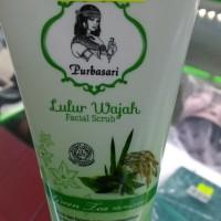 Lulur wajah purbasari(green tea)