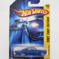 Hot Wheels 2007 First Editions 66 Chevy Nova #09