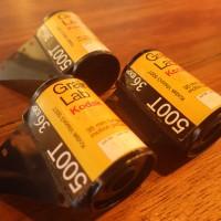 Roll Film 35mm Kodak Vision3 500T DEV ECN-2