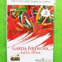 Benih Cabai / Cabe Pelangi RAINBOW GARDA FIREWORK Pack 15 Biji