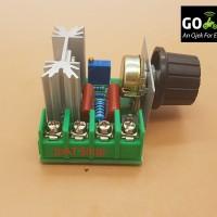 DImmer / Dimer / speed-voltage controller AC 220V 2000 wat SCR