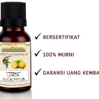 Happy Green Lemon Eucalyptus Essential Oil 10ml- Eucalyptus Citriodora