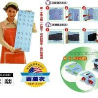 Alat melipat baju praktis tanpa strika filpfold alat bantu strika