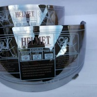 Visor / Kaca Helm Modular Snail, INK, Airoh warna silver