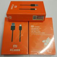 kabel data xiaomi mi4c 4s 5 usb cable tipe c original fast charging