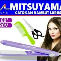 Catokan Mini - Catokan Rambut Alat Catok Rambut + Sisir Mitsuyama 5009