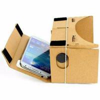 BEST SELLER !!! GOOGLE CARDBOARD DIY VIRTUAL REALITY 3D GLASSES FOR HA