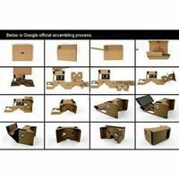 Google Cardboard DIY Virtual Reality 3d Glasses Aksesoris Handpone Sam