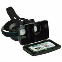 Kacamata 3D VR 6 Inchi Google Cardboard Plastic Virtual Reality Glasse