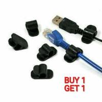 [Buy 1 Get 1 ] Cable Clip 6 pcs CC-905 | SKU 529