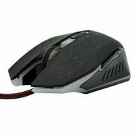 Neo Optical Game Mouse Tipe A1 (1600 DPI Led Warna Warni Steel Braided