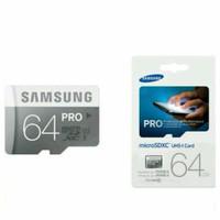 [Promo] Memory Samsung Pro 64 Gb Micro SD Class 10 Pro Micro Sdhc Card