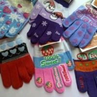 Wooll Sarung Tangan Wanita Woman Hand Gloves For Skating Anti Dingin