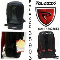 tas sekolah palazzo backpack 35903 tas ransel murah hitam