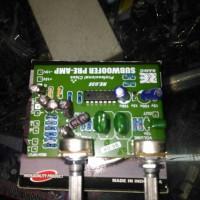 kit filter subwoofer / pre amp subwoofer boombaster