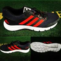 JUAL Sepatu Adidas Running Duramo 7 Man & Woman ( Warna Hitam / Merah