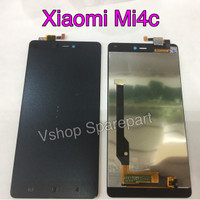 Lcd + Touchscreen Xiaomi Mi4c Black