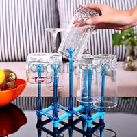 Tirisan Gelas Kapasitas 7 Gelas/Botol, bisa dilipat