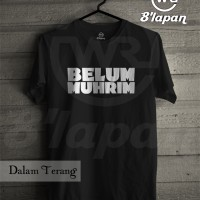Kaos Distro Islami / Glow In The Dark / Belum Muhrim