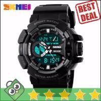 Jam Tangan Pria Dual Time SKMEI Casio Men Sport Original AD1117