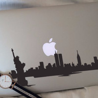 Ready Decal Macbook Sticker - New York City Recommended