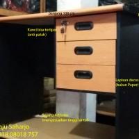 Meja Kantor Meja Kerja Panjang 1 m (100 cm )SMS-EDGING Meja Laci 3