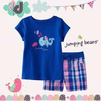 baju anak branded stelan import korea,stelan merk jumping beans