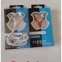 Earphone Zipper Sleting